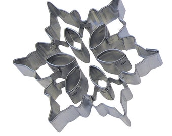 """You pick 3"""" Snowflake Cookie Cutter w/ insert cutters  cupcake fondant or pie top cutter Christmas Cookie Cutter Frozen cake"""