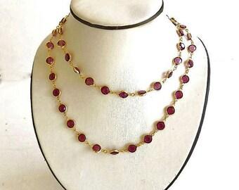 Swarovski Vintage Bracelet and Necklace Set, Jewelry Set, Demi Parure Set, Purple Amethyst Necklace, Dressy Jewelry, Upscale Fine Jewelry