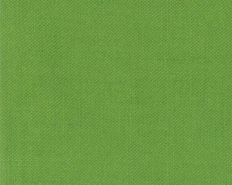 Fresh Grass Moda Bella Solid - Green Quilting Cotton Fabric 9900-228- by the Yard - 1 Yard