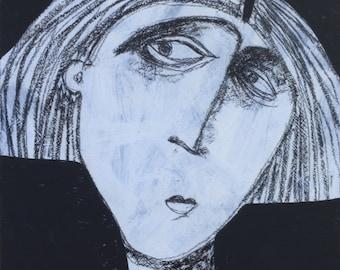 ANIMUS No. 88 ~ Original Acrylic Knife Painting on Panel