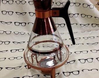 Inland glass Carafe with burner # 2 vintage Pyrex