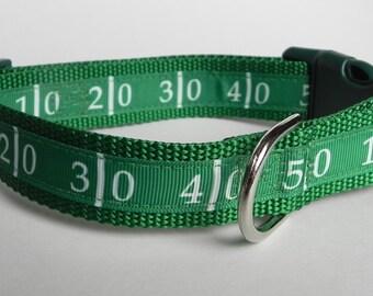 Football Field Dog Collar