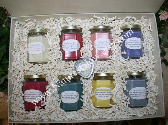 Candle Wedding Gift: Bridal Shower And Wedding Gift With Candle Poem Bridal