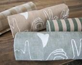 Tea Towel, Desert Sage L-O-V-E in Sign Language