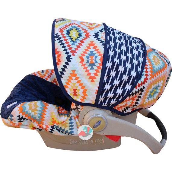 Serape Fervor Infant Car Seat Cover