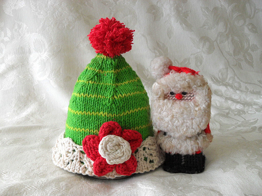 Christmas Baby Hat Knitting Knit Baby Beanie Hat Knitted
