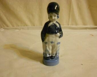 Dutch boy figurine Blue Japan
