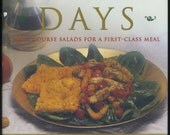 Salad Days, Main Course Salads for First-Class Meals  by Marcel Desaulniers, Cookbook, Recipes, Menus, Entertaining