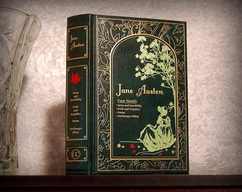 Hollow Books Safe (Jane Austen Four Novels)