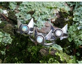 Sterling Silver Legend of Zelda Inspired Navi Fairy Ring with Choice of Stone