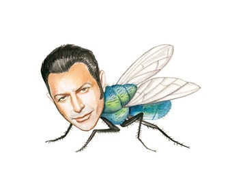 Jeff Goldblum Fly prints
