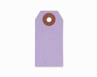 Little Purple Shipping Tags (100)