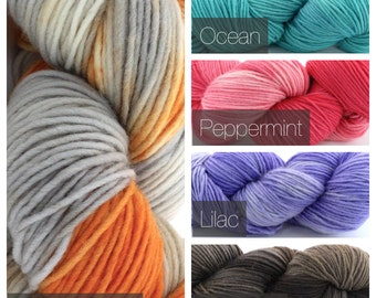Single Ply Wool - Heavy Worsted