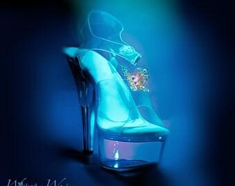 Cinderella 2015 Glass Slipper Butterflies, Cinderella Shoe Butterflies, 2015 Cinderella  Gold Butterflies