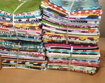 Poppyseed Fabric Fat Quarter bundle Special, 32 fabrics of assorted in stock and past prints, Great deal....