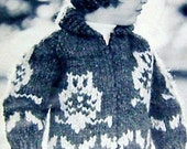 Child's Cowichan Owl Sweater & Toque PDF
