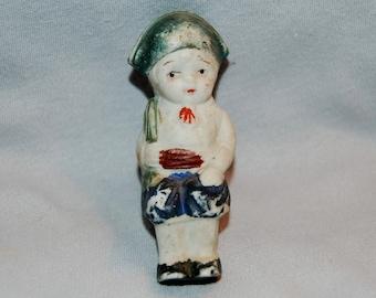 Vintage / Shelf Sitter / Bisque / Doll / Matador / Bullfighter / Frozen Charlotte /  Penny Doll / Vintage Dolls