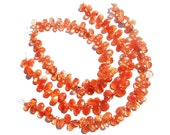 Bead, Sunstone Smooth Pear (Quality AA+) / 5x7 to 6.5x9 mm / 8 to 10 Grms / 18 cm / SU-074