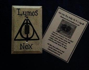 Harry Potter Light Switch Lumos Nox