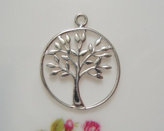 Reduced from 8.90, Handmade 925 Sterling Silver TREE of life in Halo - PC-0081