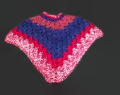 Girl's Poncho Size 2-3 Years