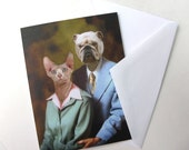 Earl and Betty, 50th Anniversary Portrait - Note Card