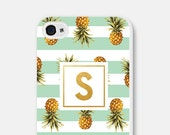 Monogram iPhone 5s Case - Gold iPhone 6 Case - Pineapple iPhone Case - Pineapple iPhone 5s Case Monogram iPhone 6 Plus Case Gold iPhone Case
