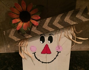 Wood Scarecrow - Fall Decor