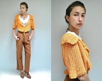 Boho Cotton Cardigan  //  Cropped Cardigan  //  THE LIVIE