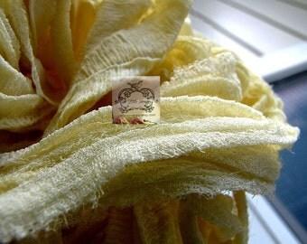 Buttery Goodness Silk Chiffon Ribbon