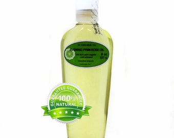 8 OZ Evening Primrose Oil 100% Pure Organic Cold Pressed