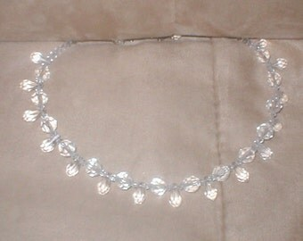 Swarovski Clear Crystal Necklace