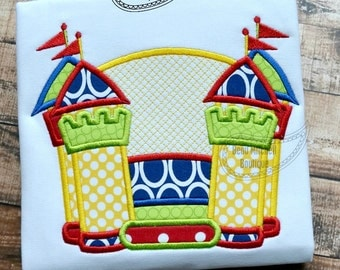 Bounce house applique