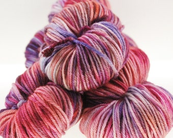 Hand Dyed Hand Painted Pick Your Base - Mardi Gras