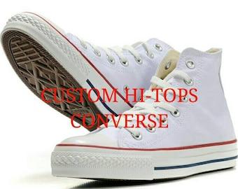 Custom Converse Hi-Tops