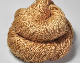 To much caramel cake  - Tussah Silk Lace Yarn