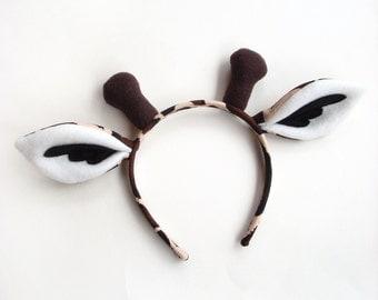 Specialty Giraffe Ears Headband