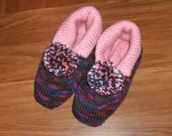 Happy feet, slippers, shoes, footwear, women's size 9-10