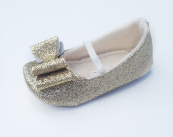 toddler girl shoes baby girl shoes soft soled shoes wedding shoes flower girl shoes gold glitter