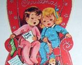 VintageChristmas Card-Merry Christmas