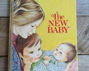"Vintage Rare 1948 A Golden Book, ""The New Baby"""