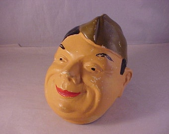 Ceramic Soldier's Head Cover