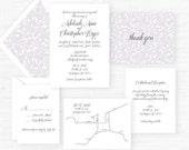 The Adelaide Collection | Wedding Invitations - Set of 25