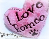 Softie - Personalized-Heart Shaped Dog Toy