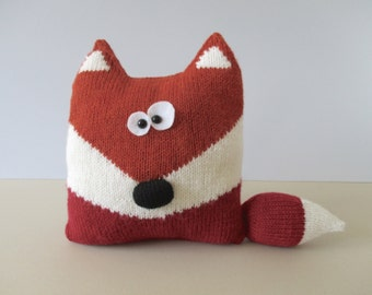 Fox Cushion Knitting Patterns