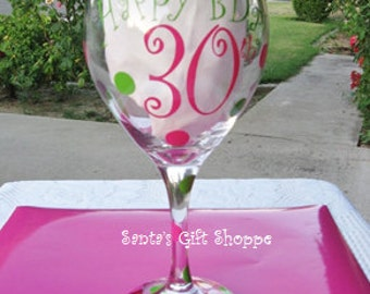 "Vinyl Decals for Birthday Glass - Happy Birthday Vinyl Stickers - ""Special Birthday"" Party - 30th,40th,50th Birthday Glass - Celebrations"