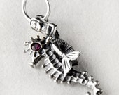 Majestic Mermaid Sterling Silver Charm