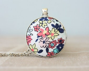 Pendant necklaces for women boho necklace flower necklace bohemian jewelry handcrafted jewelry gift idea for her trendy jewelry