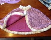 Rapunzel lavender purple  Cape Capelet  S M L 2 4 6 8 10