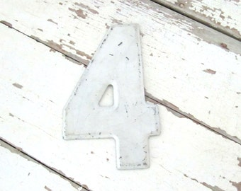 Vintage Metal Sign Number 4